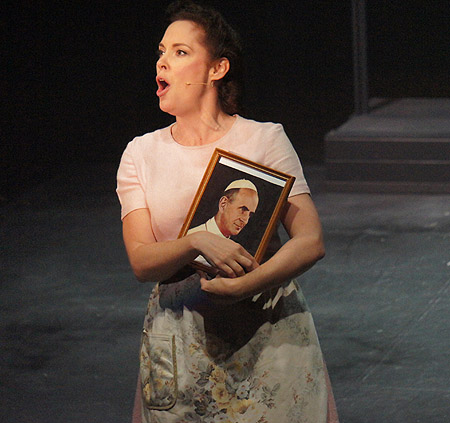Chelsea Plumley as Mrs Johnstone - Melbourne 2014