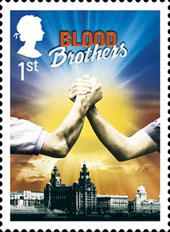 Royal mail BLOOD BROTHERS Stamp