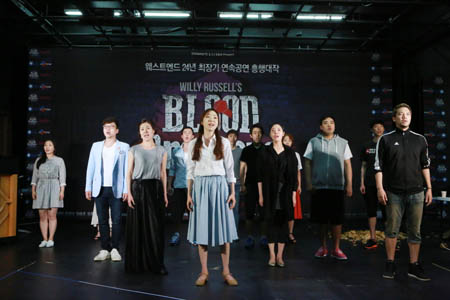 Some of the cast for Blood Brotehr in South Korea  2014 - Photo Credit: Hansaem Song
