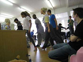 Our Day Out - The Musical, rehearsals