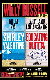 Shirley Valentine and Educating Rita at London's Menier Chocolate Factory Theatre