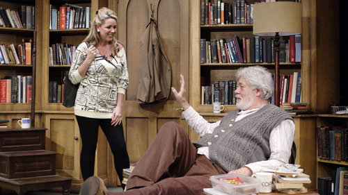 Claire Sweeney and Matthew kelly in Educating Rita 2012