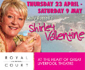 Pauline Daniels in the 2009 Royal Court Shirley Valentine