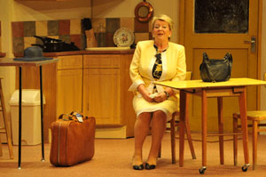 Pauline Daniels as Shirley prepares for Greece