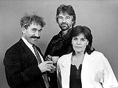 Simpn Callow, Willy Russell and Pauline Collins