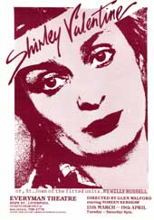 The original Everyman Theatre programme cover
