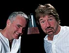 the singing playwrights - Willy Russell and Tim Firth